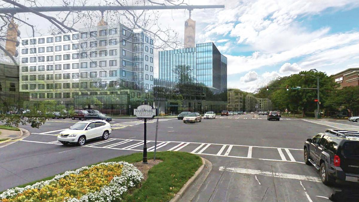 Charlotte road construction projects - What S The Status On Southpark New Construction Redevelopment Projects Charlotte Business Journal