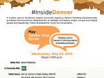 Twitter chat: Join us for an #InsideDenver talk on landing a PR job in Denver