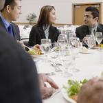 10 tips on staying classy (and making an impression) at business meals