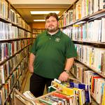 Ferguson librarian finds himself in national spotlight