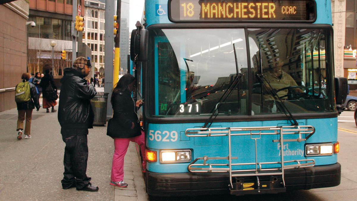 The port authority of allegheny county 39 s busiest routes pittsburgh business times - Port authority bus schedule ...