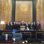 Clarence High School mock trial team wins state championship