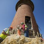 How to move a 460-ton Martha's Vineyard lighthouse (BBJ photo gallery)