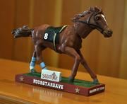 A Fourstardave bobble head will be one of the 2013 Saratoga giveaways. This will be given away to fans (with paid admission) on Sun., Aug. 11.