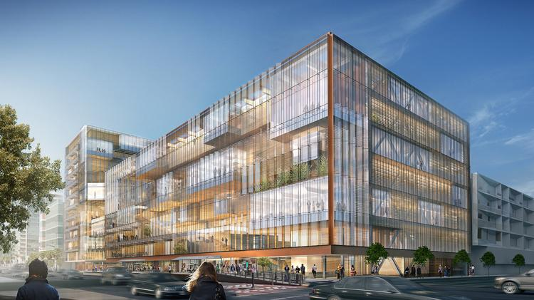 Uber Office Design To The 423000squarefoot Mission Bay Building Will Include An 11story Midrise Uberu0027s Head Global Workplace Adony Beniares Reveals Details About