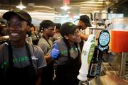 The newest D.C. Shake Shack, which is located in the same building as the International Spy Museum, replaced the Spy City Cafe.
