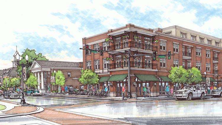 Downtown Franklin Tn >> Huge Downtown Franklin Project Lands High End Hilton