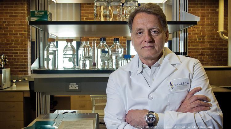 Edward Kaye, CEO of Sarepta Therapeutics