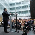 Lines blur between scholar, scientist and entrepreneur