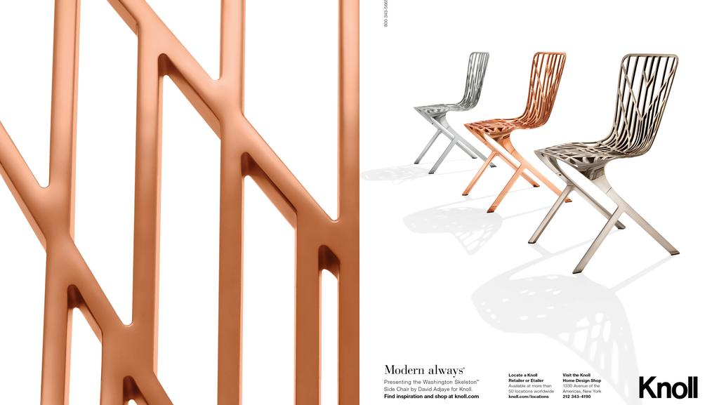Knoll Gets An Eternally Modern Look Courtesy Of Chicago Ad Shop