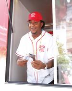<strong>Pedro</strong> <strong>Martinez</strong> explains how good it is to be an ice cream man in Boston (Video)