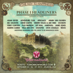 TomorrowWorld reveals entire group of phase 1 headliners (SLIDESHOW)