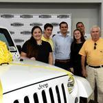 AutoNation surprises Miami family with free Jeep to celebrate 10 million cars sold