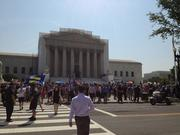 In a 5-4 ruling in United States v. Windsor, the court struck down a provision of DOMA that denies federal benefits to same-sex couples legally married.
