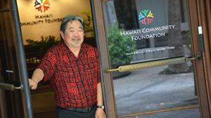 Kelvin Taketa, president and CEO of Hawaii Community Foundation.