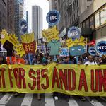 Retail workers union pushes for veto of minimum wage <strong>bill</strong>