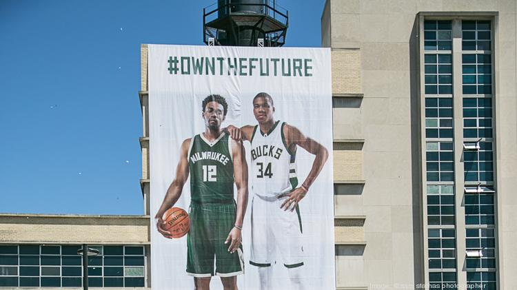 The Milwaukee Bucks unveiled new uniforms during a block party Saturday at  Schlitz Park in downtown 30fe8c5b4