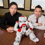 Robots pursue banking careers in LA (Video)