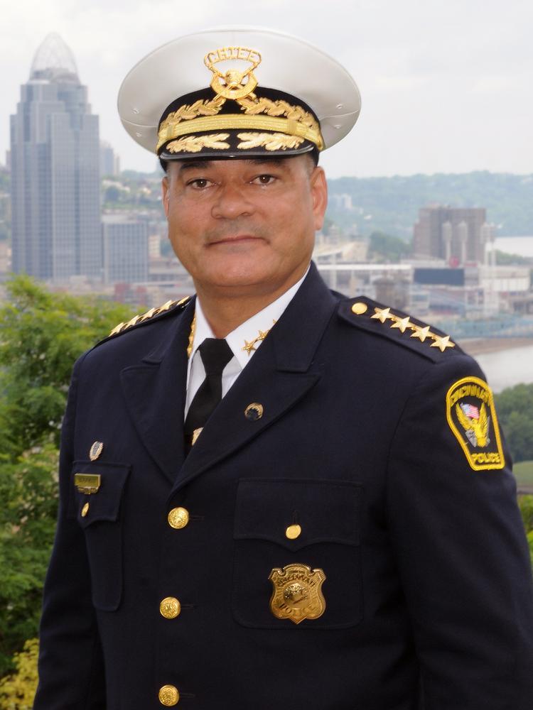 Former Cincinnati Police Chief Jeffrey Blackwell Gets