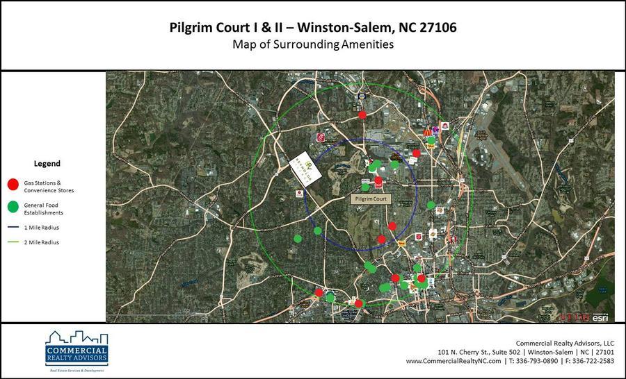 Pilgrim Court Aerial