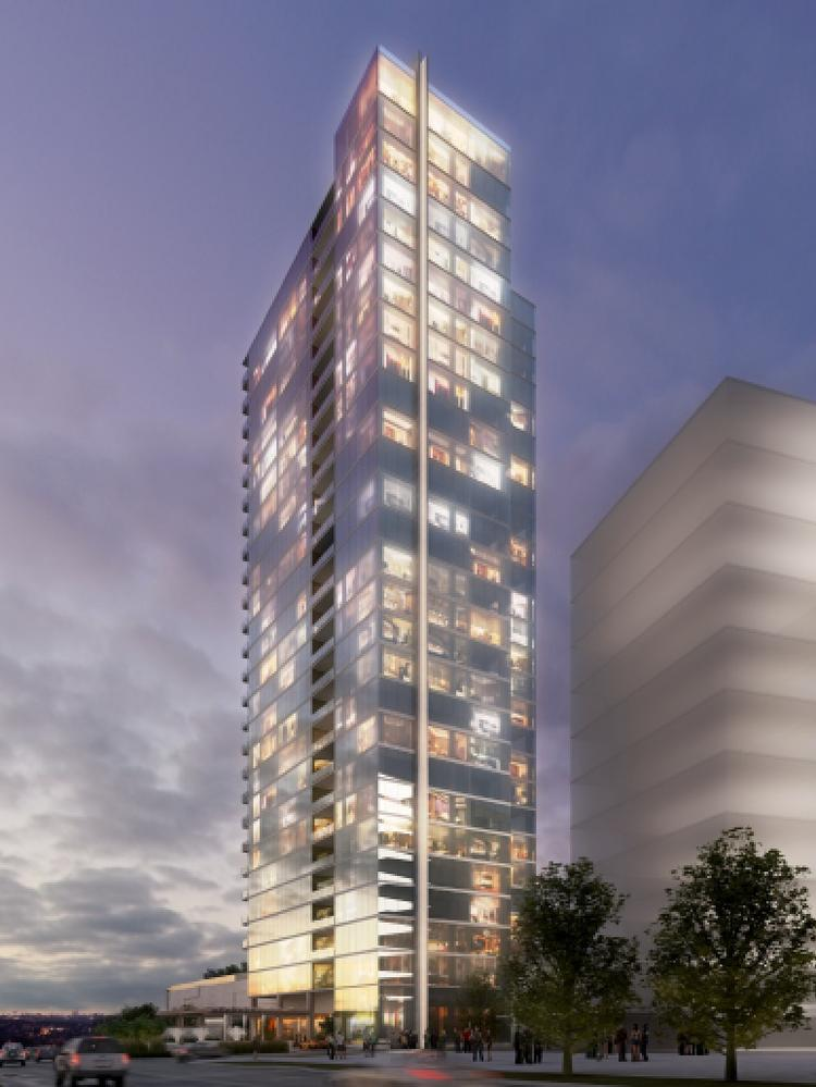 Luxury condo tower gets underway at 2b legacy west for Legacy house