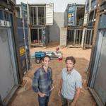 Filling in Phoenix's empty spaces: Shipping container apartments bring national attention to local architects