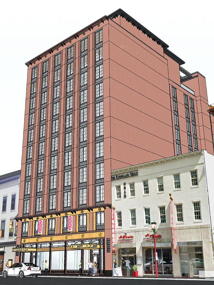 The Pod Hotel Planned For Heart Of D C S Chinatown Neighborhood Will Offer Microsized