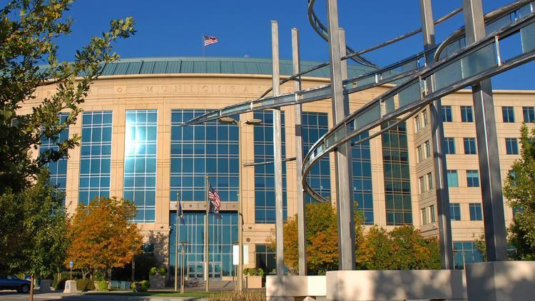 The Aurora Municipal building.