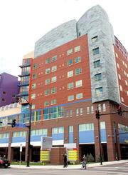 Children's Hospital of Pittsburgh: Clinical Services Building, Lawrenceville, is No. 3 on the list of the region's largest LEED-certified/green projects at 1,009,982 square feet.