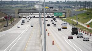Tolls on new tax-financed highway lanes?