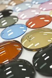 Colored and coated lenses are part of Vision Dynamics' product line.