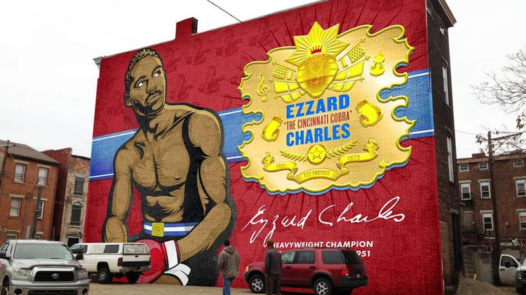 Artworks plans these new murals across cincinnati this for Chuck brown mural