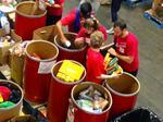 Charlotte's big banks come together to stock local food bank (PHOTOS)