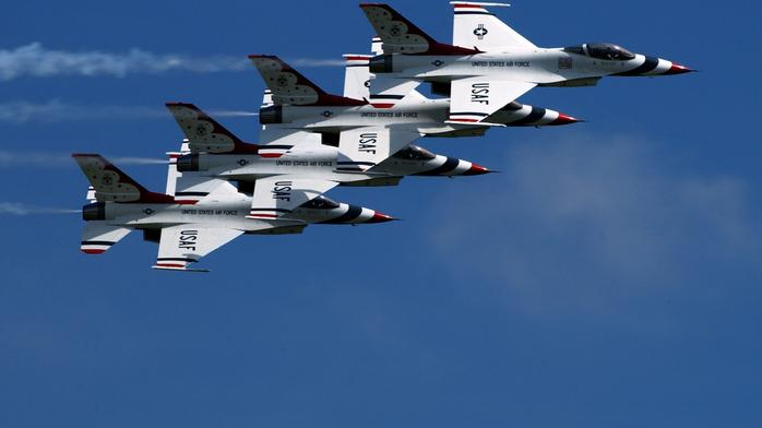 Air Force Thunderbirds pull out of Saturday Dayton Air Show after 'mishap'