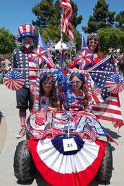 Fourth of July Celebration at Leo Ryan Park A family-friendly celebration with a dog parade, live music and family games. When: July 4, 9:30 p.m.  Cost: Free to the public. $10 parking Location: Leo Ryan Park in Foster City, 650 Shell Blvd. More here.