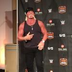 Pro wrestling icon <strong>Hulk</strong> <strong>Hogan</strong> gives inside look at new I-Drive shop/attraction