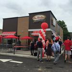 Maplewood Tim Hortons opens with fanfare