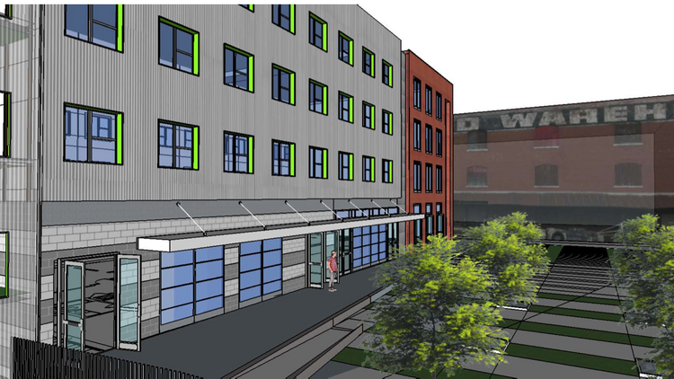 New renderings by Looney Ricks Kiss of the South Main