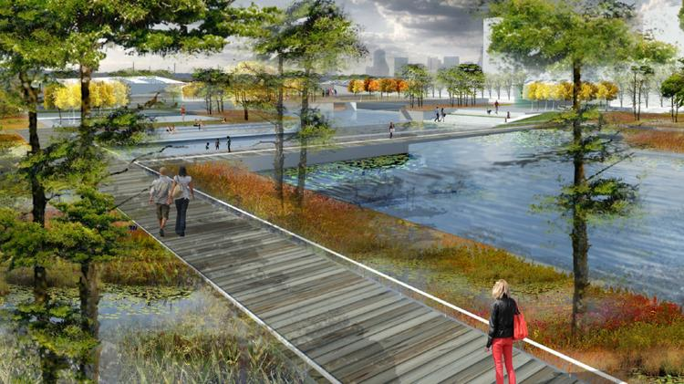 Superieur The Proposed Water Gardens At The Rivers Project Was Initially Conceived By  The Connected City Design