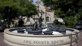 What do you think of the momentum in Five Points South with national chains and franchise operations moving in?