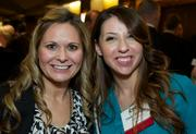 From left, Holly Corley and Cassie Riendeau of LaborWorks during the Puget Sound Business CFO of the Year Awards at the Grand Hyatt in Seattle on Thursday.