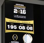 The countdown is on to College Football Playoff National Championshp