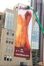 Slideshow: Schmidt's unveils 'world's largest Bahama Mama' with downtown ad mural