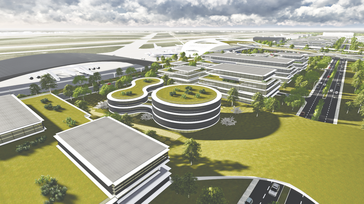 The Houston Spaceport will be an aerospace hub at Ellington Airport.