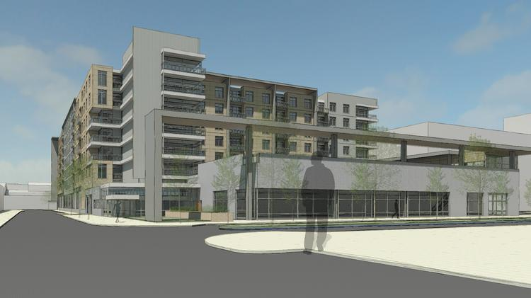 Apartment Complex canton crossing apartment complex next to target gets design