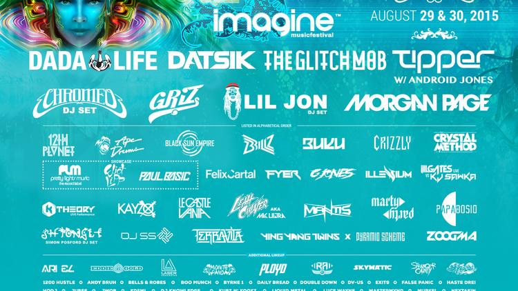 31fc08507 Atlanta's Imagine Music Festival unveils entire lineup (SLIDESHOW ...