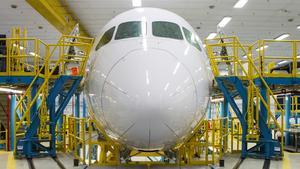 Boeing CEO isn't looking backward on the 787 Dreamliner