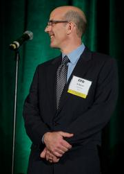 Albert Bacon of LaborWorks during the Puget Sound Business CFO of the Year Awards at the Grand Hyatt in Seattle on Thursday