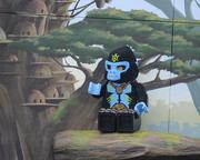 """During the ride, guests get a look at the lands of Chima. And no, no one sings """"It's a Small Chima after all."""""""