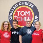 Three questions with Tom + Chee founder Trew Quackenbush